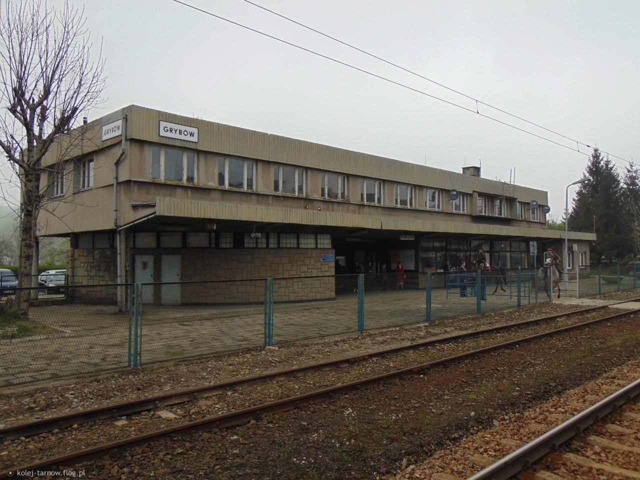 Dworzec kolejowy Grybów