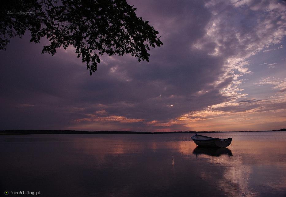 Zachodzik. Jezioro Kisajno.