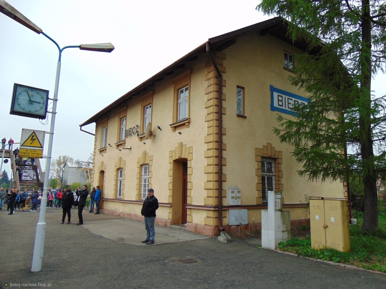 Dworzec kolejowy w Bieczu