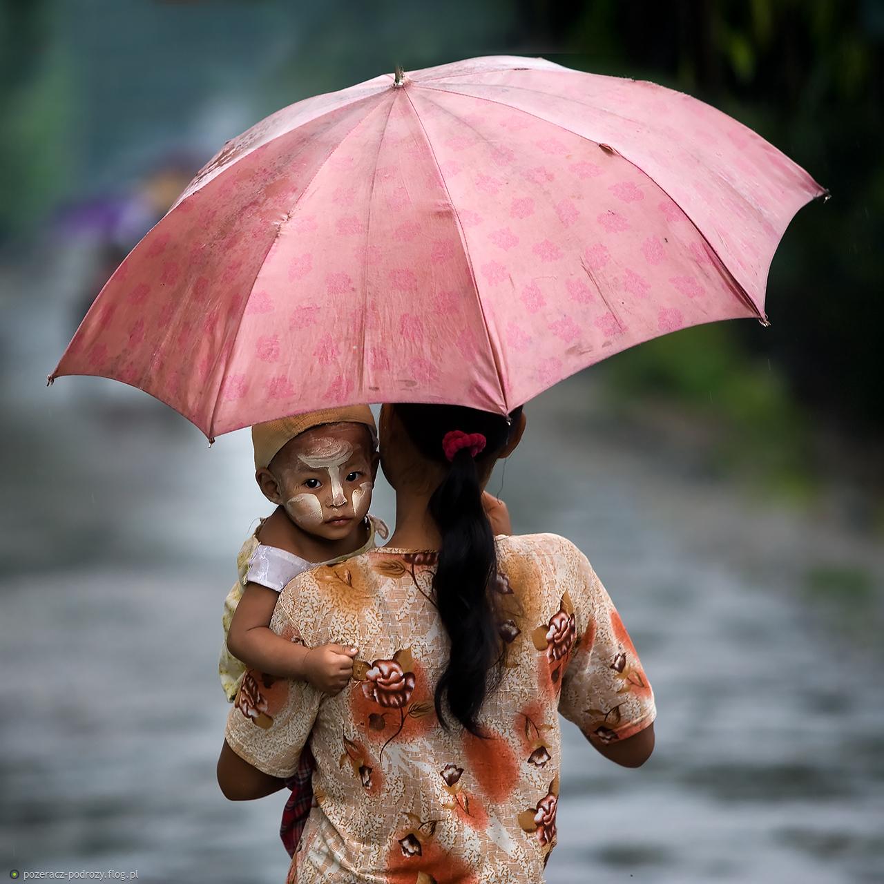 Portret z parasolem