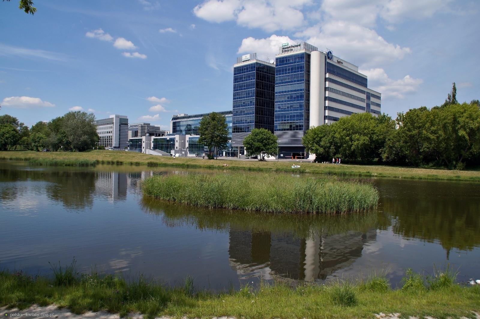 Budynki Hewlett Packard Enterprise Polska Sp. z o.o. na warszawskim Służewcu.