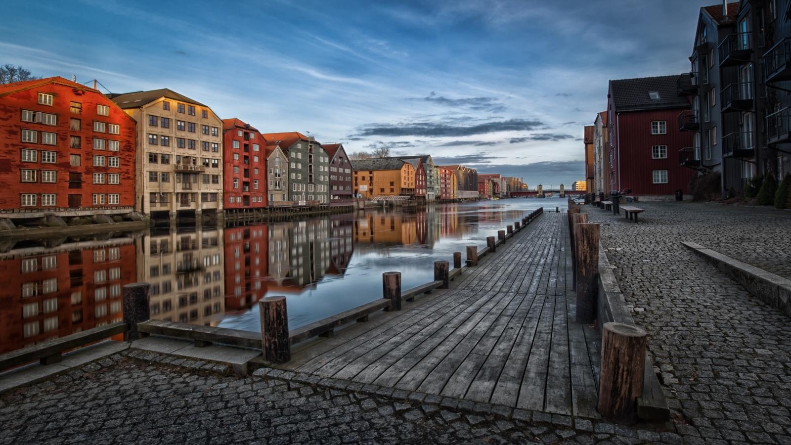 Wizytówka miasta-Trondheim