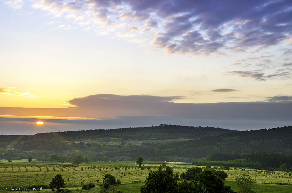 No i proszę dzisiejszy wschód słońca, aby uśmiech towarzyszył Ci przez resztę dnia ;)