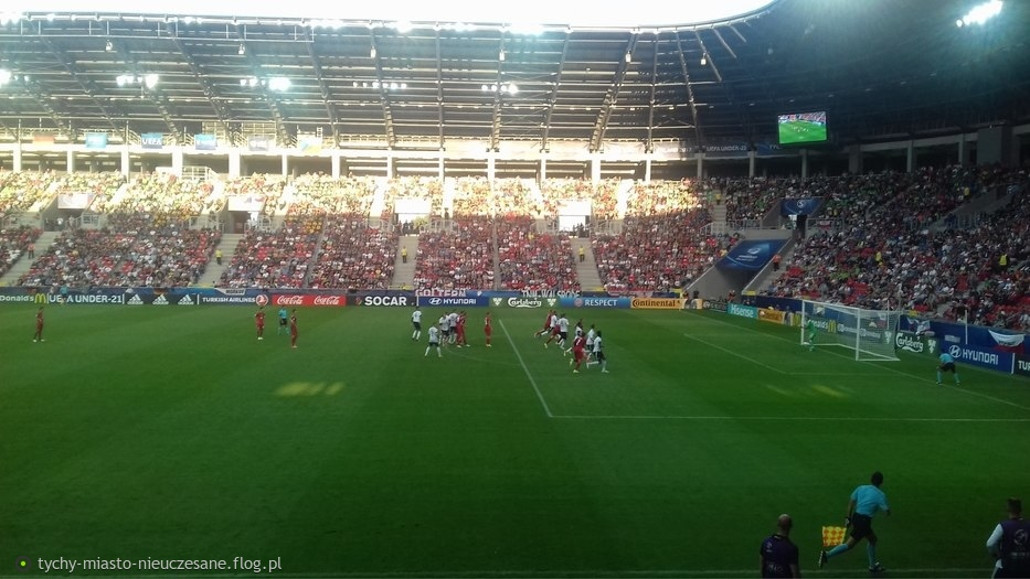 Tychy, EuroU21, Niemcy - Czechy 2:0.