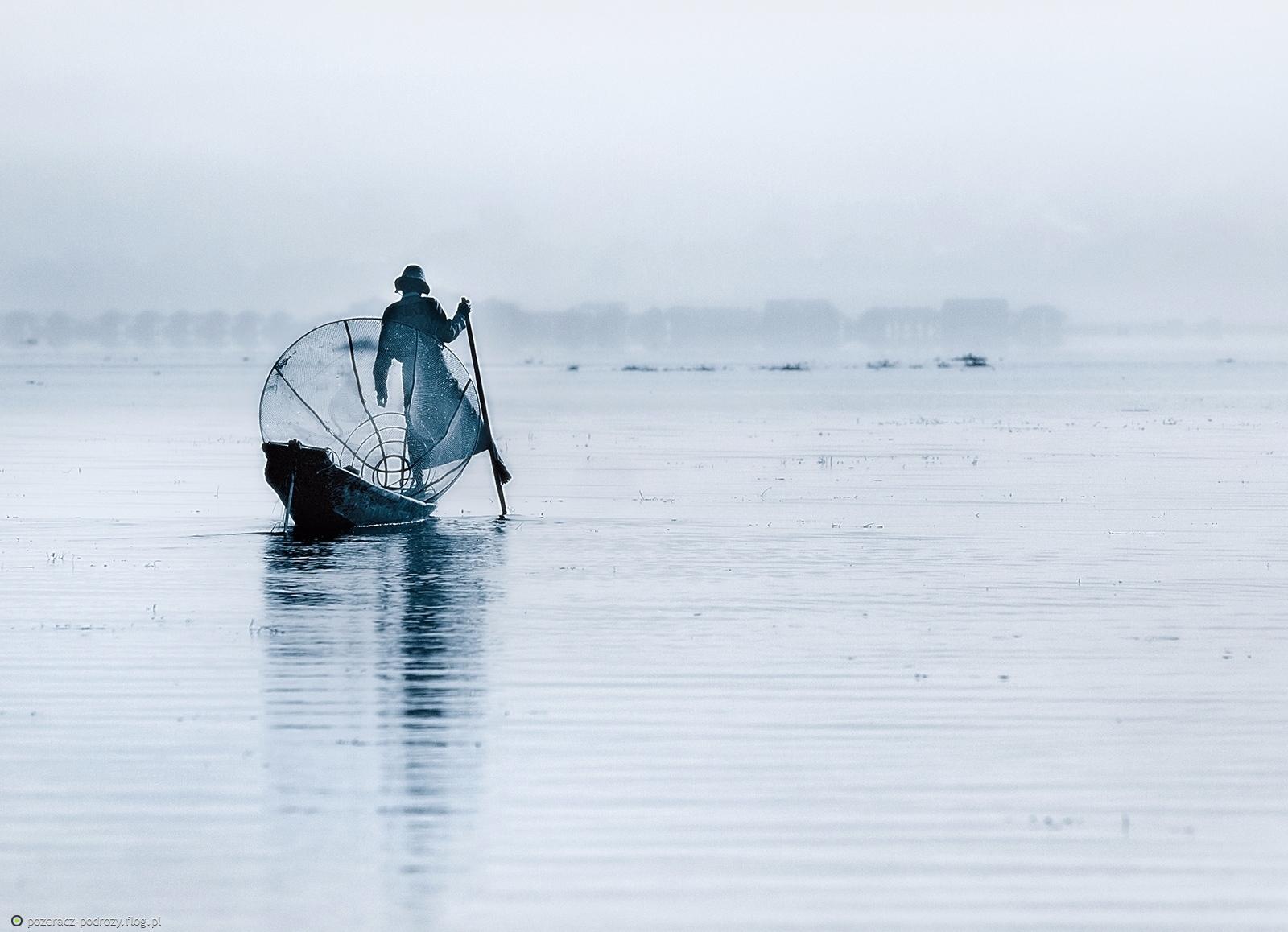 Na jeziorze Inle
