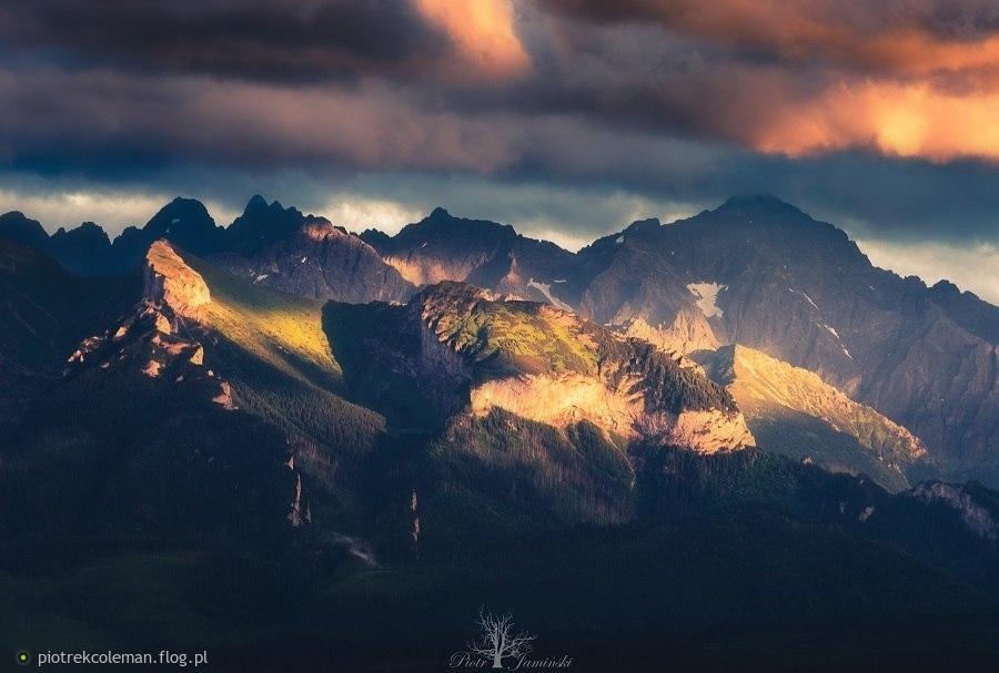 Tatrzańskie szczyty...