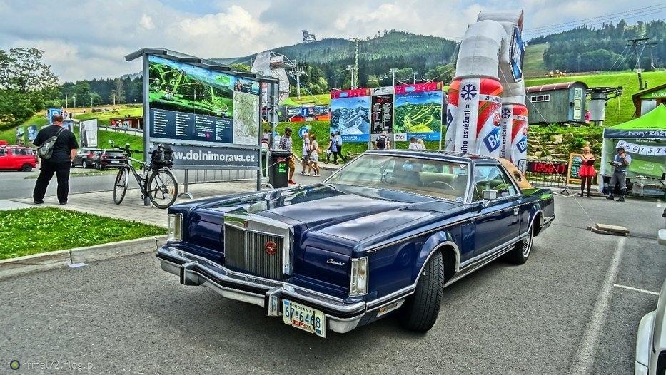 retro samochody w Dolni Morava (8.07.2017)
