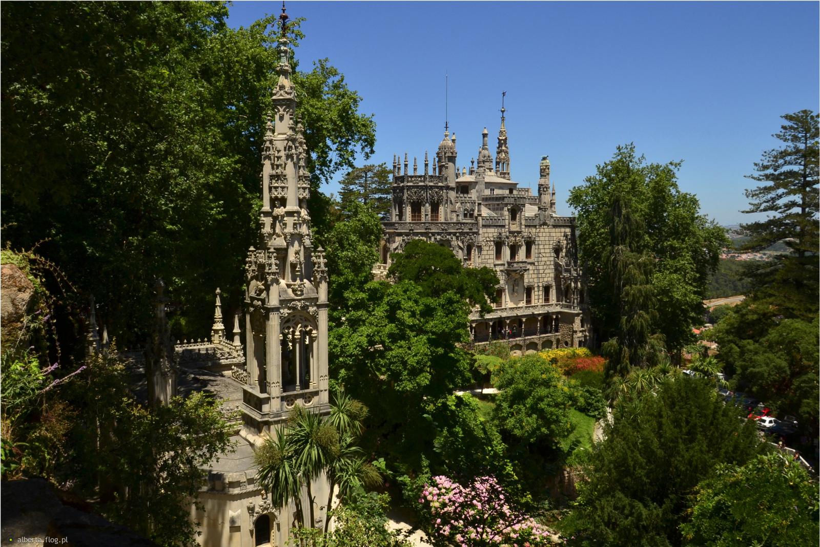 Mityczny mistycyzm – Quinta da Regaleira, Sintra w podziękowaniu za sympatyczną dedykację! Pozdrawiam :)