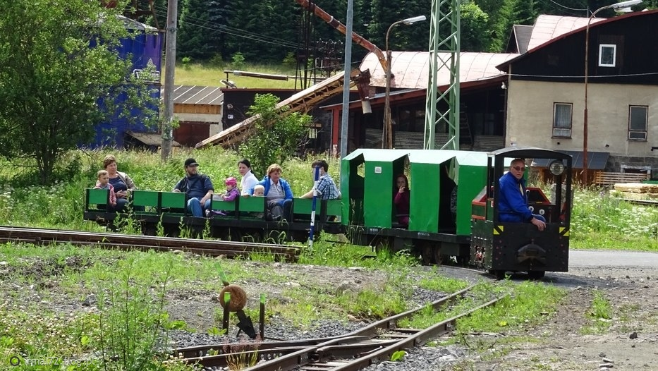 kolejka na stacji Korenov