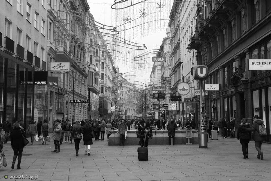 Wiedeń - Kärntner Straße