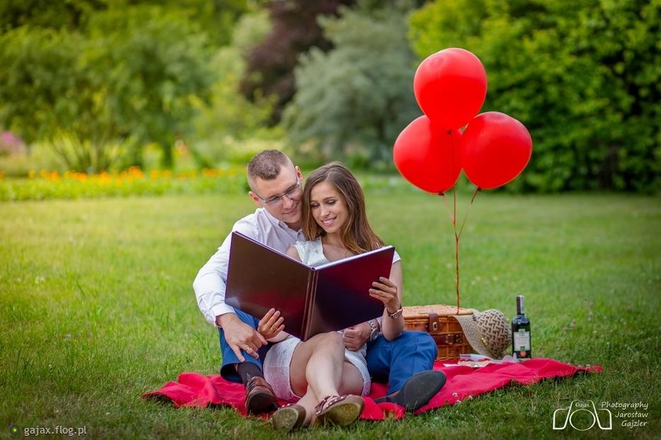 Pierwsza rocznica ślubu Aliny i Tomka :)