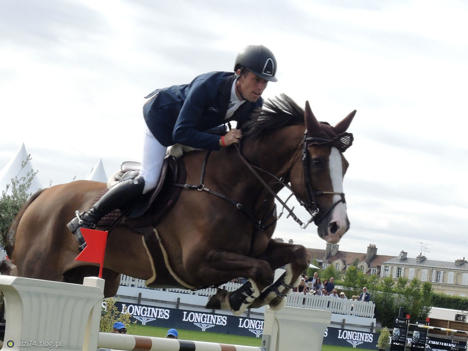 LONGINES GLOBAL CHAMPIONS TOUR GRAND PRIX OF CHANTILLY BARAGE