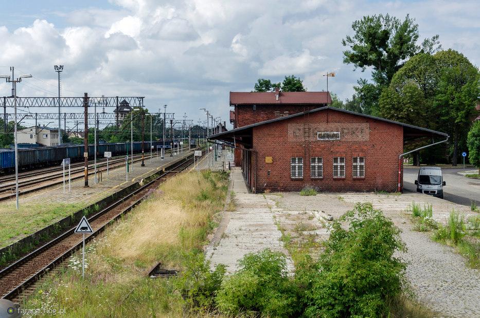 Widok na stację Chałupki