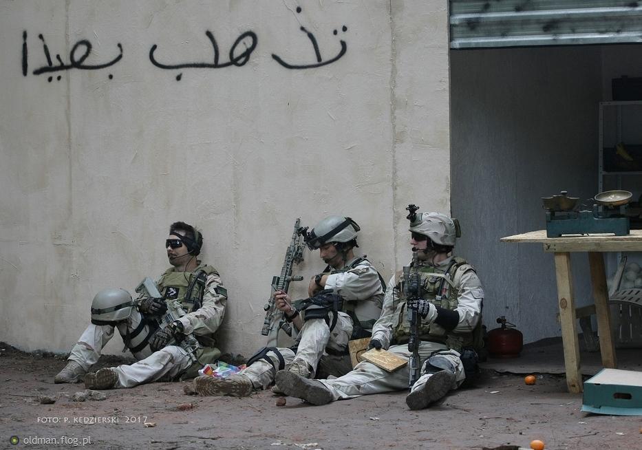 Tymczasem w Iraku... (odpoczynek po walce)