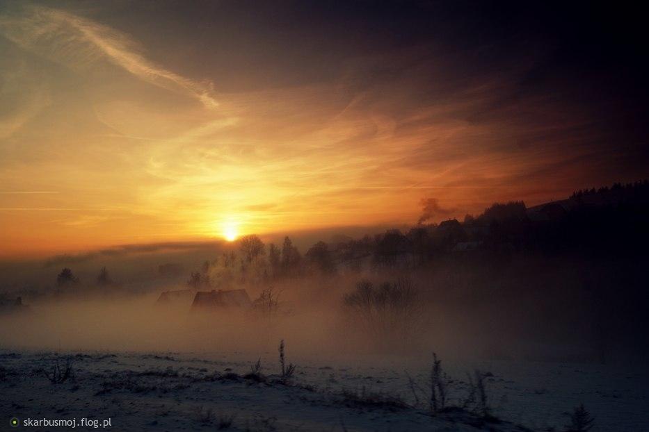 trochę z innej beczki ......dziś u mnie upał i ciepło więc coś na ochłodę -wspomnienie zimowe :)