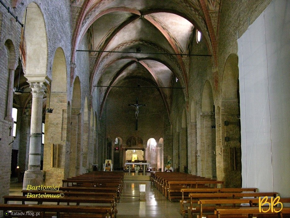 Padova, Chiesa Santa Sofia – interno, 14.08.2009.