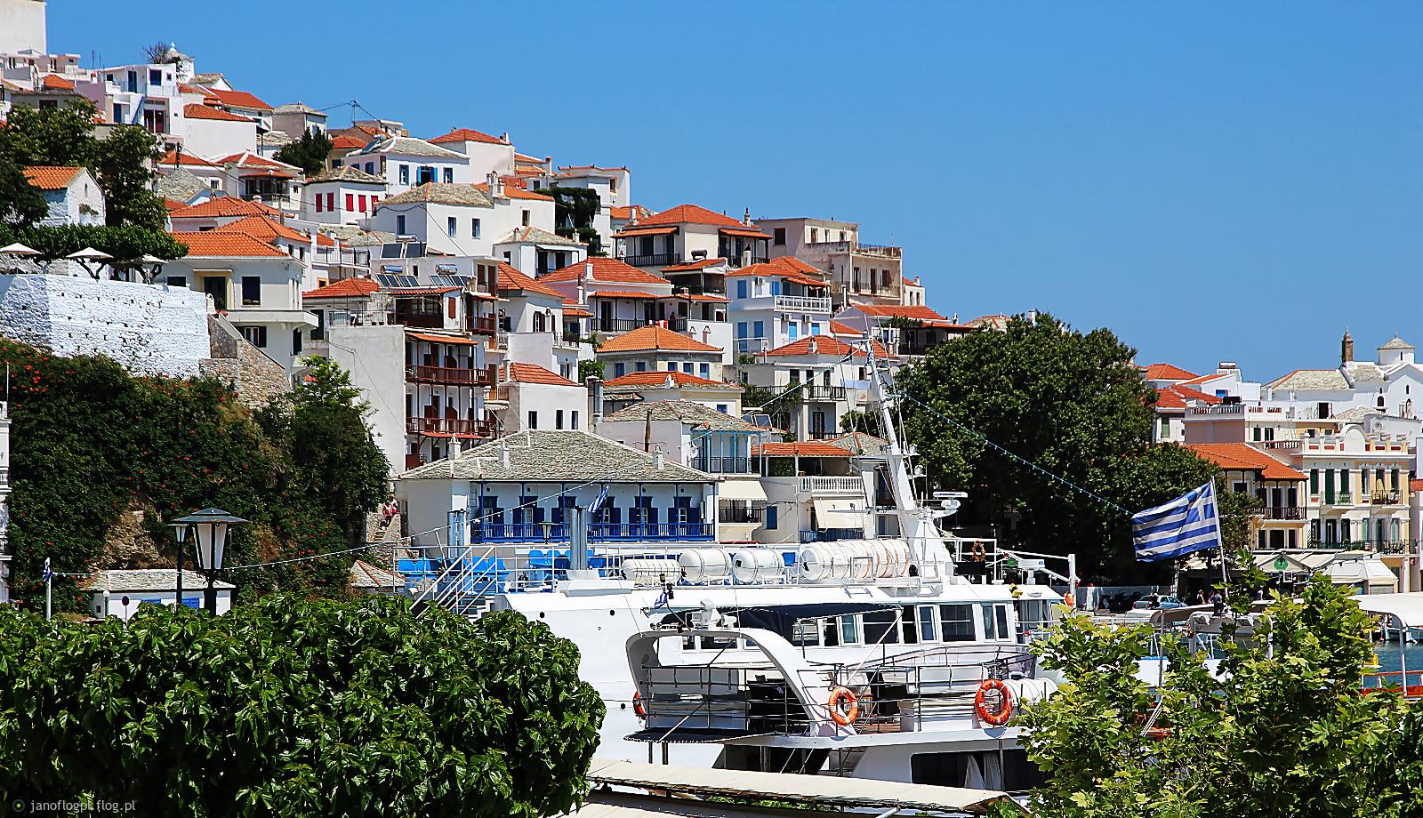 Spacerkiem po Skopelos