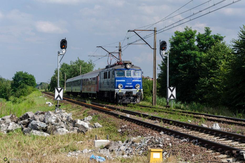 EP07-1018 #PKP Intercity