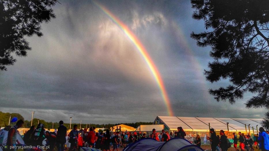 Woodstockowa tęcza!