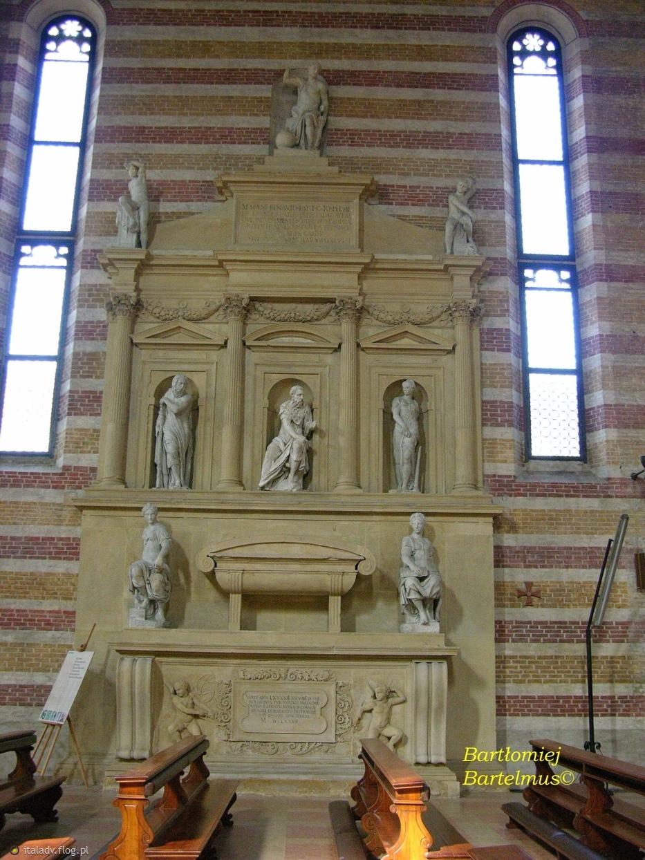 Bartolomeo Ammanati, Monumento funebre di Marco Mantova Benavides, 1544, Chiesa degli Eremitani (Santi Giacomo e Filippo ), Padova, 14.08.2009.