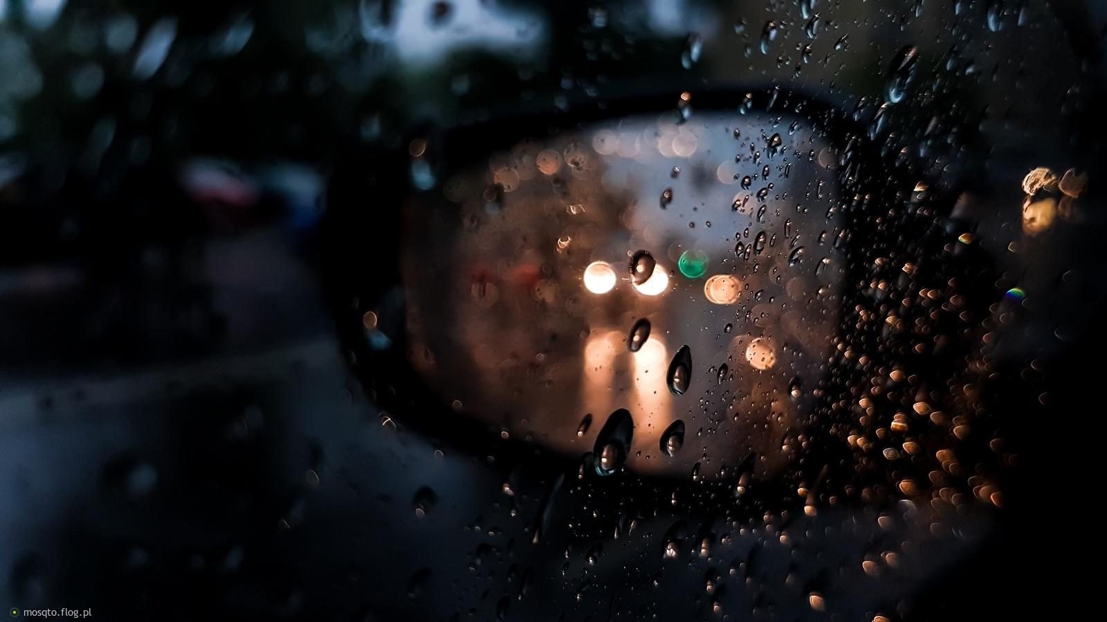 ...deszczowo