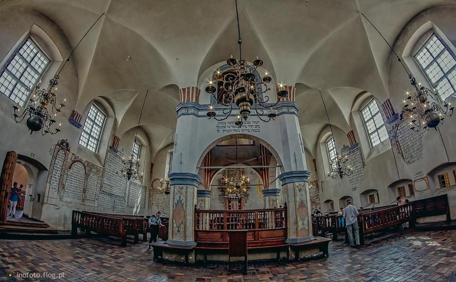niedzielnie - Wielka Synagoga w Tykocinie