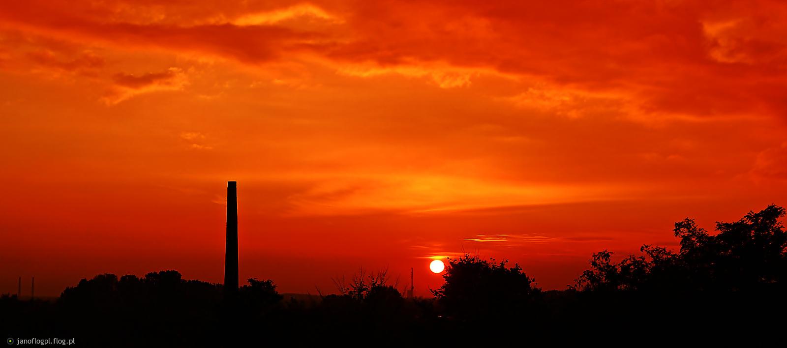 Taki sobie zachód słońca