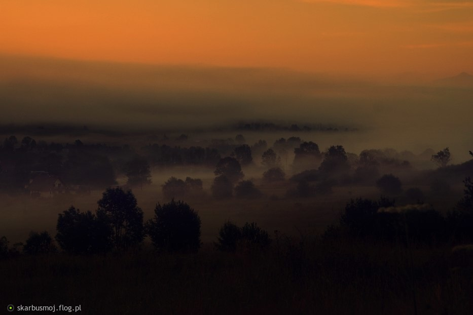 ach te mgły poranne........