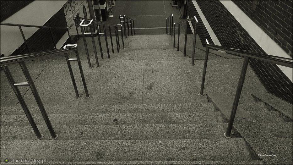 Na szczycie schodów ...