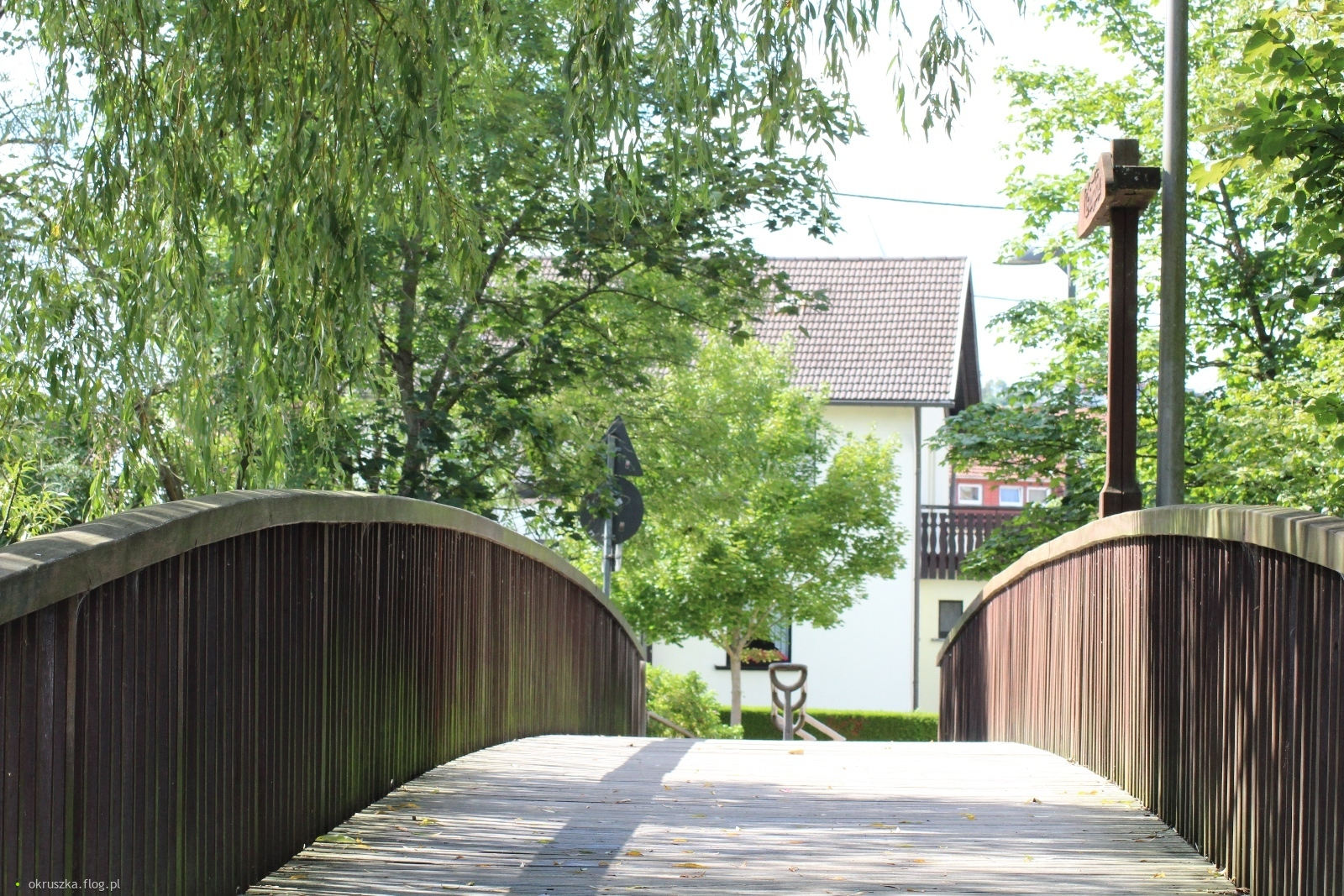 Mostek na rz. Prims