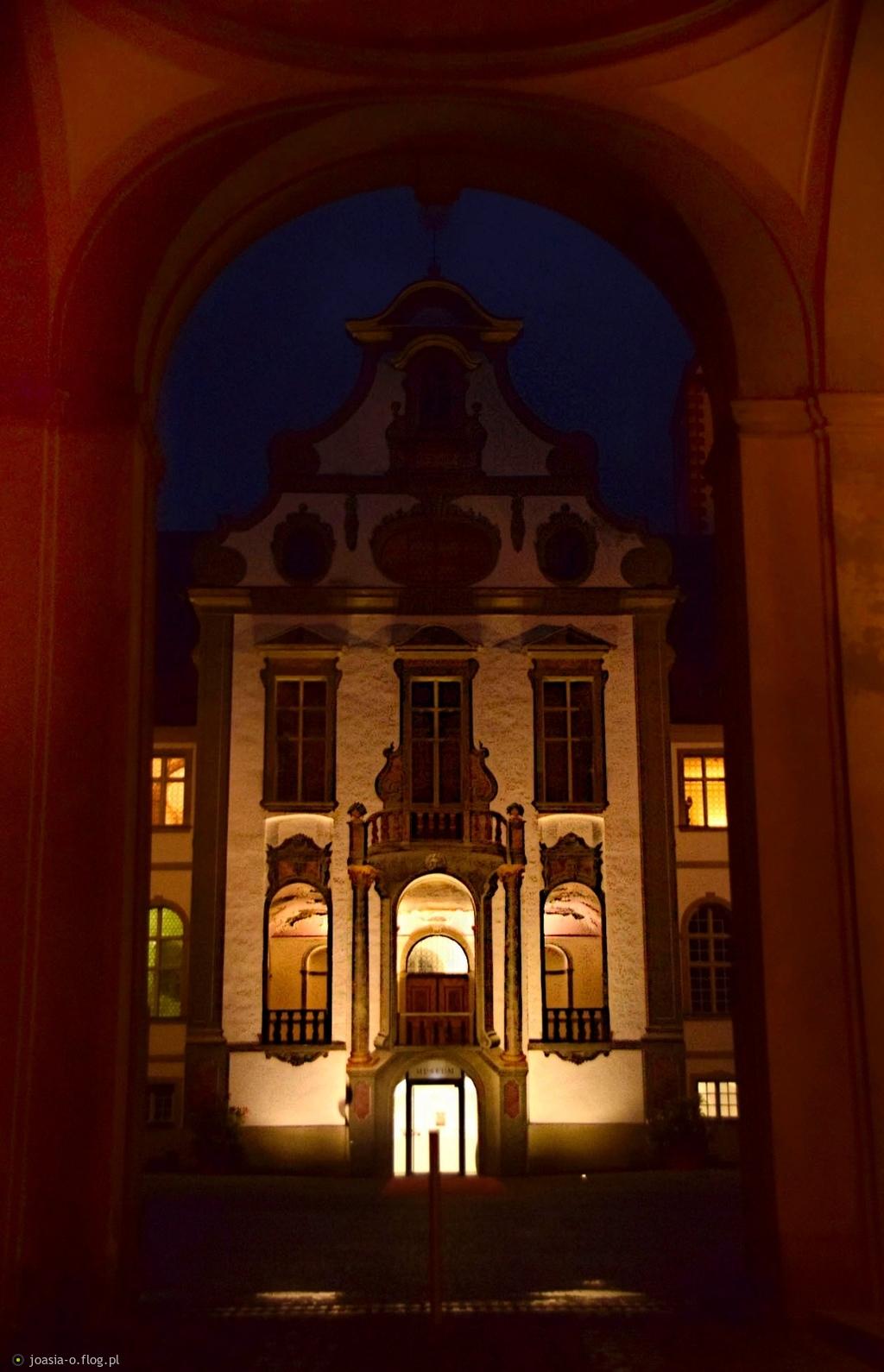 Nocą w Füssen.