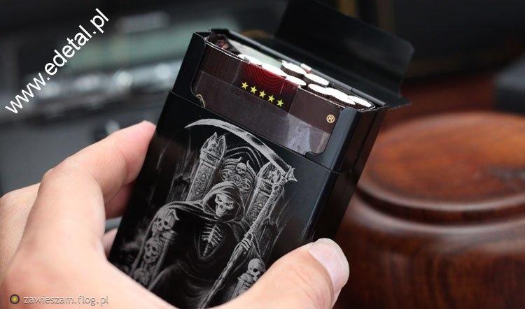 Metalowa papierośnica Laifu