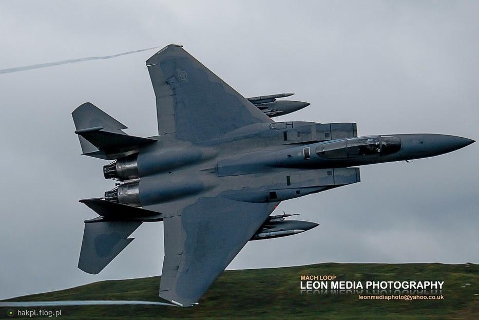 F-15 na MACH LOOPIE