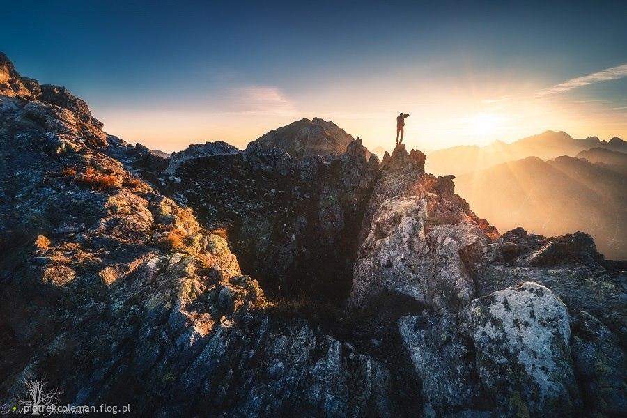 Poranek w Tatrach...