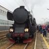 Ty42-107 :: Ty42-107 z pociągiem retr<br />o relacji Nowy Sącz - Gor<br />lice - Biecz postój w Gry<br />bowie.