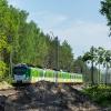 EN57Al-1681 :: Duet AeLi opuszcza stację<br /> Czachówek Południowy.   <br />20.05.2017 r. Krępa.