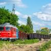 ST43-2415 :: Rumun, po wepchnięciu wag<br />onów, oczekuje na dalsze <br />manewry po bocznicach sta<br />cji Piaseczno.   07.06.