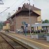 Dworzec kolejowy w Stróża<br />ch  ::