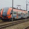 EN99-003 :: EN99-003 oczekuje na służbę na stacji Nowy Sącz.