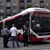 Volvo 7900 Hybrid #W2 278B :: Sosnowiec, aleja Zwycięsta. Rok produckji: 2017