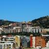 Taki widok miałam z okna,<br /> a po lewej Tibidabo, naj<br />wyższe wzgórze Barcelony.