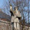 Siemianowice Śląskie, woj<br />ewództwo śląskie: rzeźba <br />św. Jana Nepomucena z 180<br />3 roku...., :: ....zbliżenie na postać ś<br />więtego.....