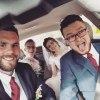 Jadą na wesele:D