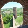Widok z wieży na pomnik p<br />rzyrody, czyli jeziorko C<br />zerskie (starorzecze Wisł<br />y)