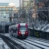 EN97-011 :: Mrówa, jako pociąg Warsza<br />wskiej Kolei Dojazdowej, <br />ruszył z przystanku Warsz<br />awa Śródmieście WKD