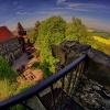 Dowód kulistości Ziemi na<br />szej... :: Widok z wieży zamku Grodz<br />iec. Polecam oglądać wraz<br /> z muzyką.