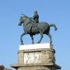 Donatello,  Monumento equ<br />estre al condottiero Eras<br />mo da Narni detto il Gatt<br />amelata, 1446-1453, Piazz<br />a Sant&#039;Antonio, Pado<br />va, 14.08.2009.