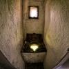 Ku światłości ... :: Takie oto toalety znajduj<br />ą się na murach obronnych<br /> zamku Grodziec.