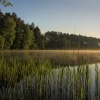 Tu gdzie krzyżują się ści<br />eżki nasze... ::  Jezioro Świdno...