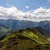 Wzdłuż szlaku z Chudej Pr<br />zełączki do Hali Ornak :: 8 czerwca 2017 - Widoki z<br /> zielonego szlaku między <br />Chudą Przełączką i Halą O<br />rnak.